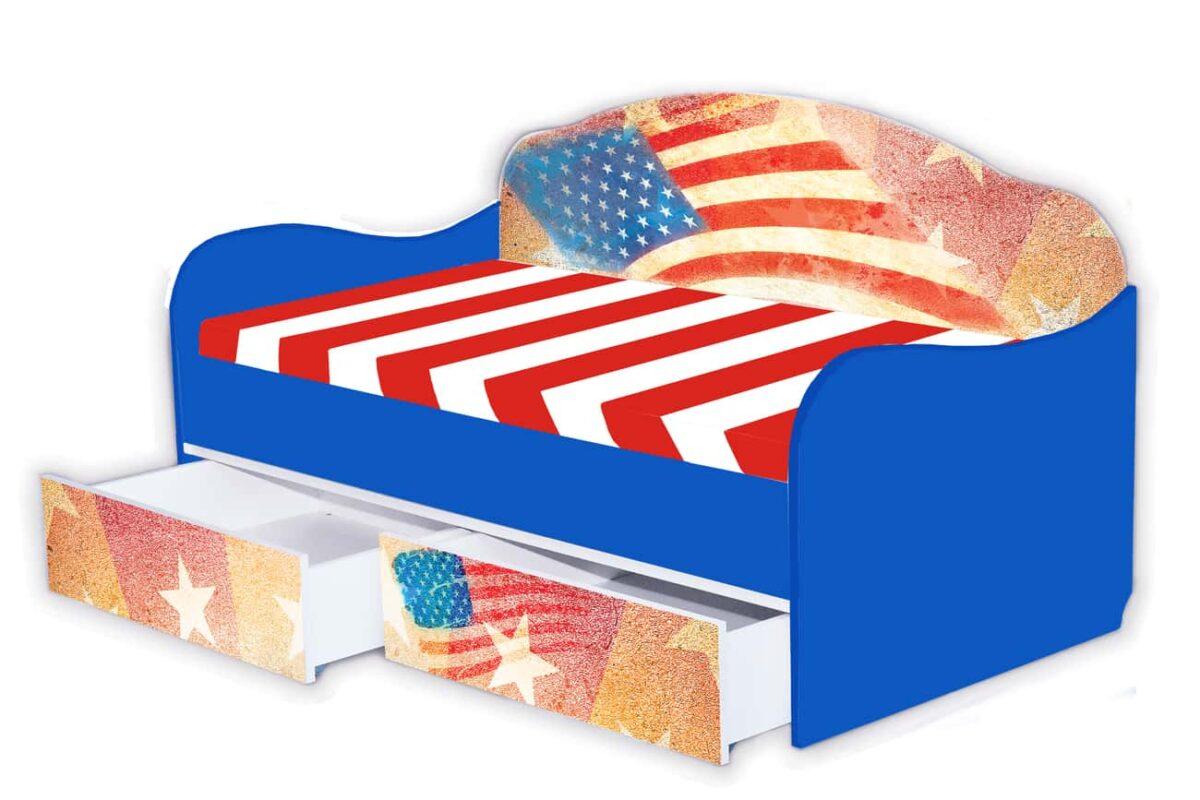 диванчик америка синий