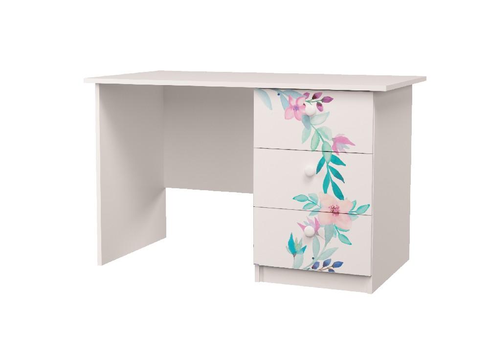 стол с 3 ящиками цветы