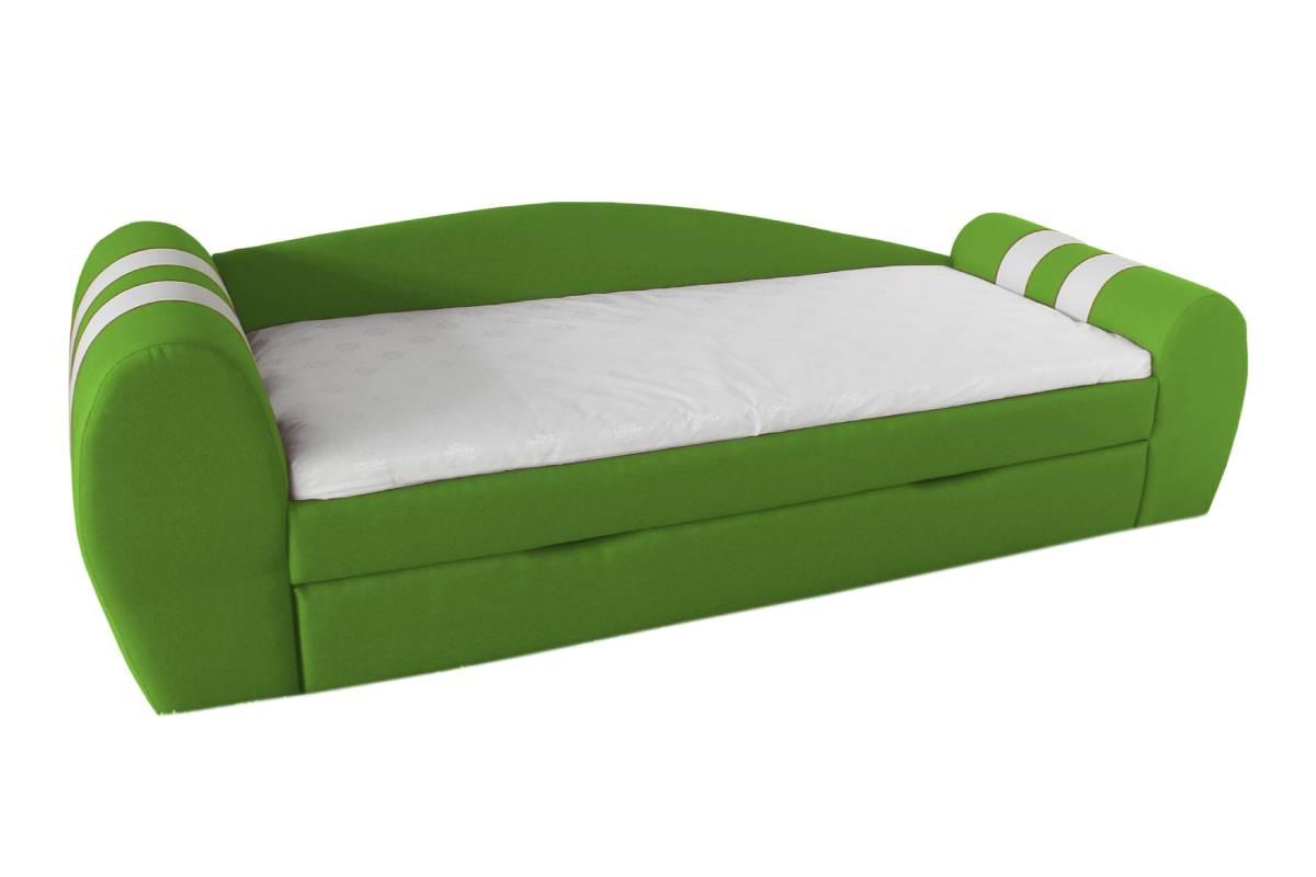 диван гранд зеленый с ящиком