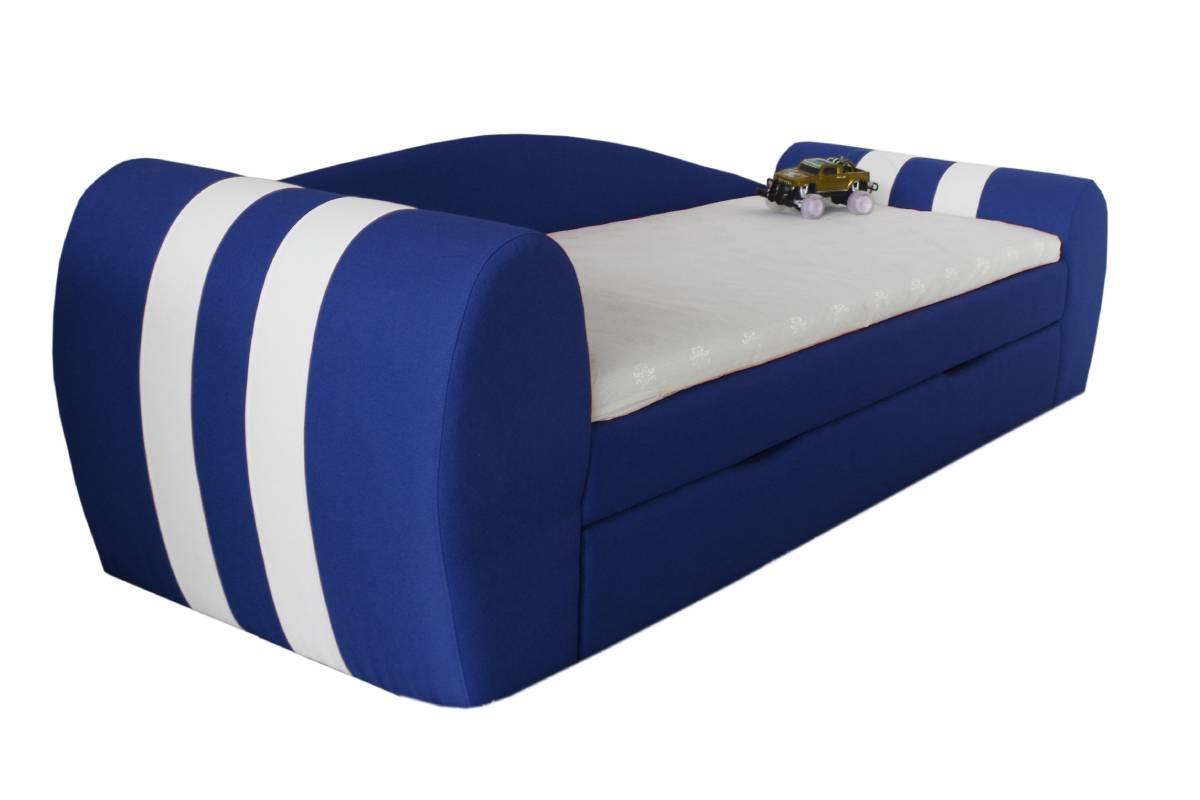 диван гранд синий с ящиком