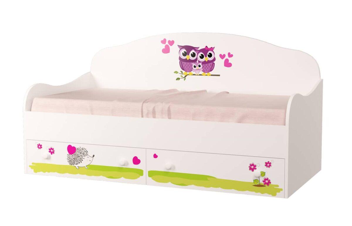 кровать совушки детская