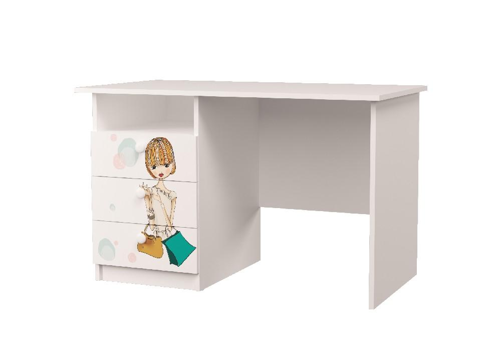 письменный стол с ящиками гламур