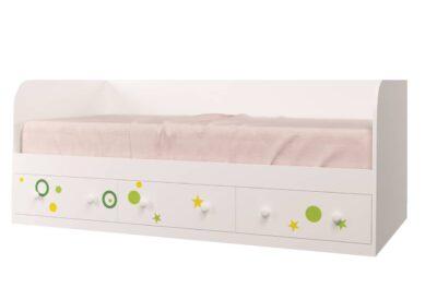 Кровать Винни. 3 ящика