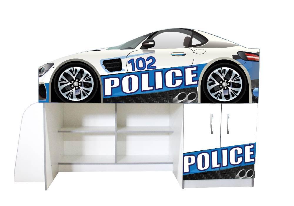 кровать комната полиция 102