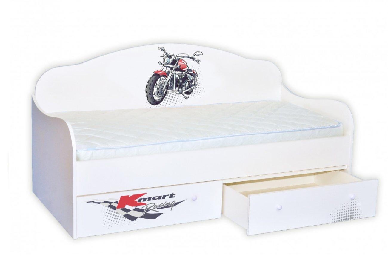 Кровать диванчик Мотоцикл
