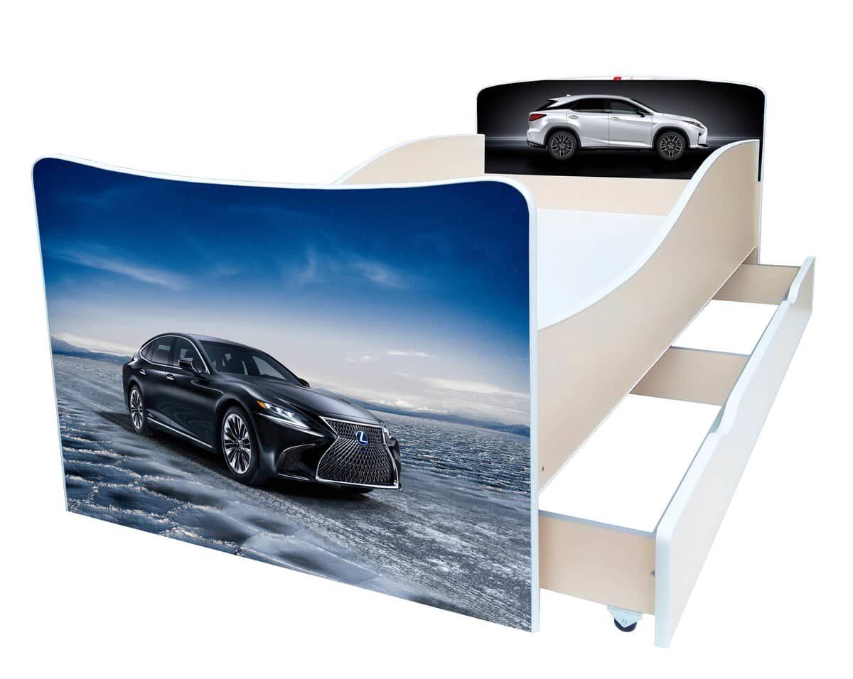 детская кровать киндер авто