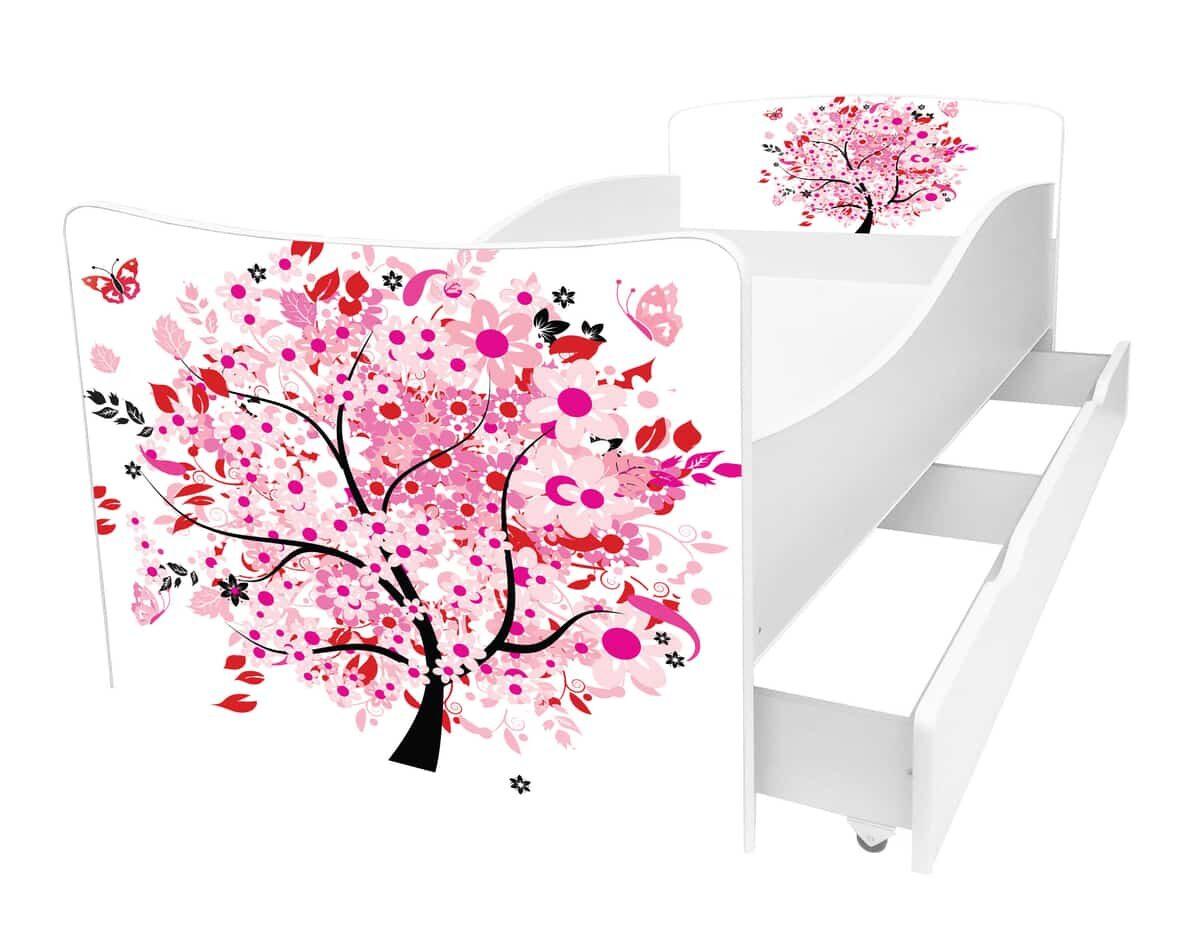 детская кровать киндер дерево