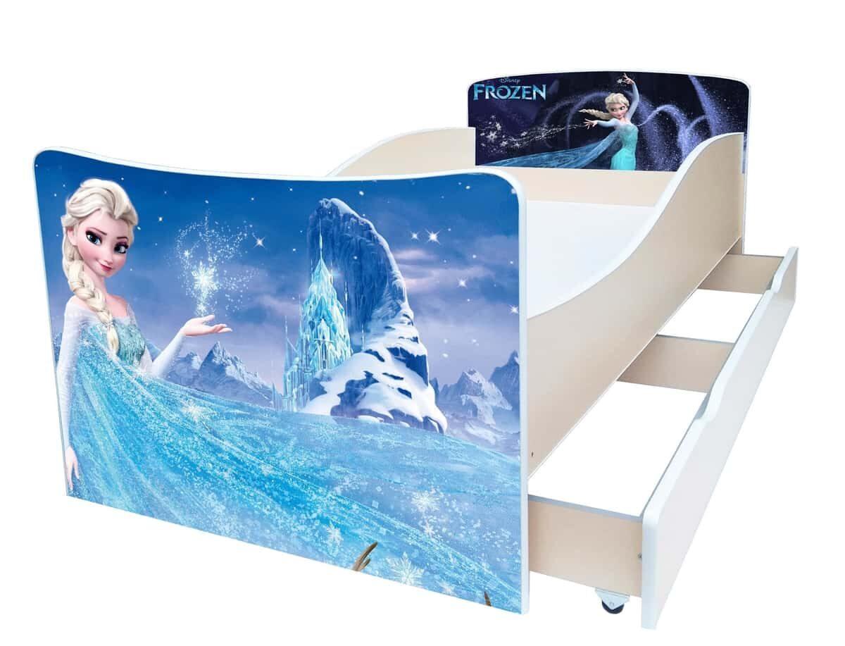 детская кровать киндер эльза