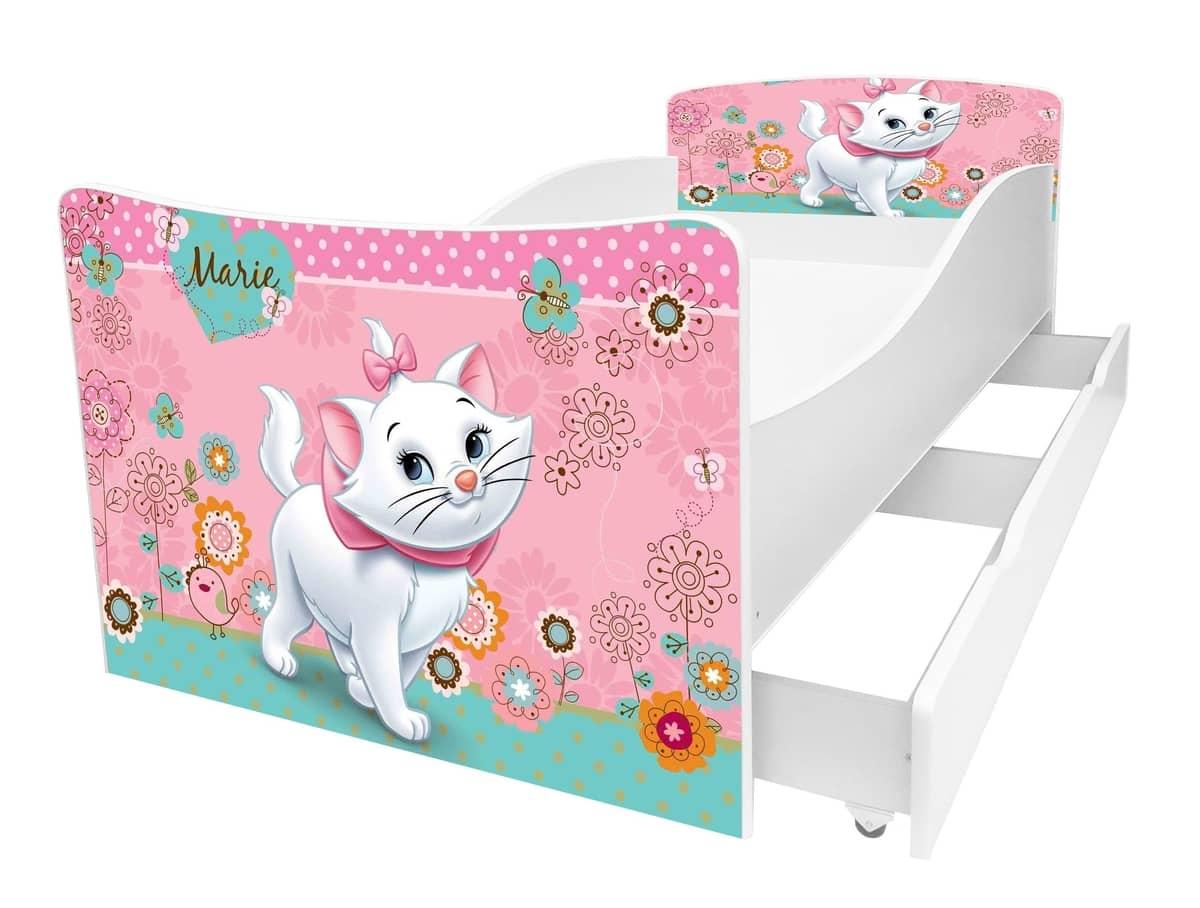 кровать киндер кошечка