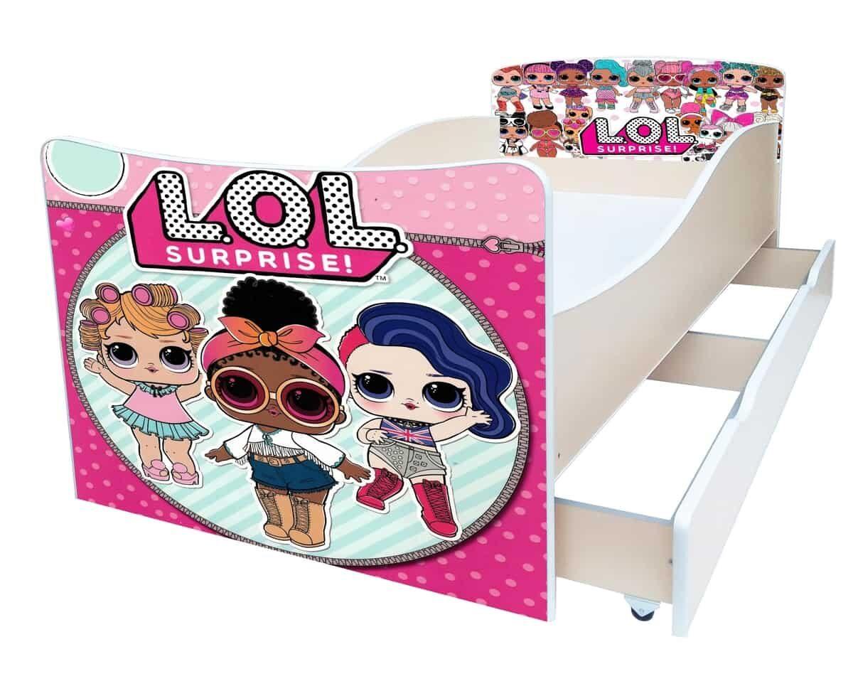 кровать киндер кукла лол