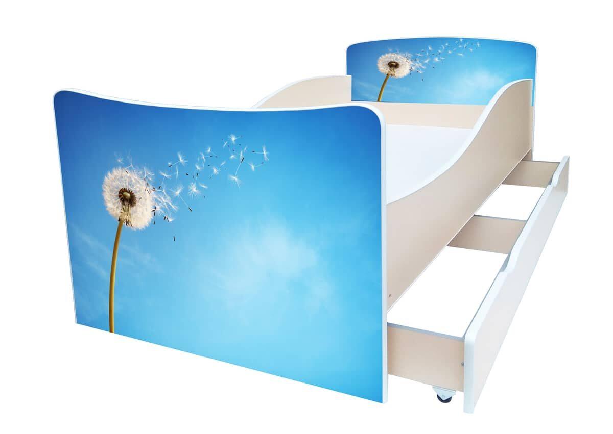 детская кровать киндер одуванчик