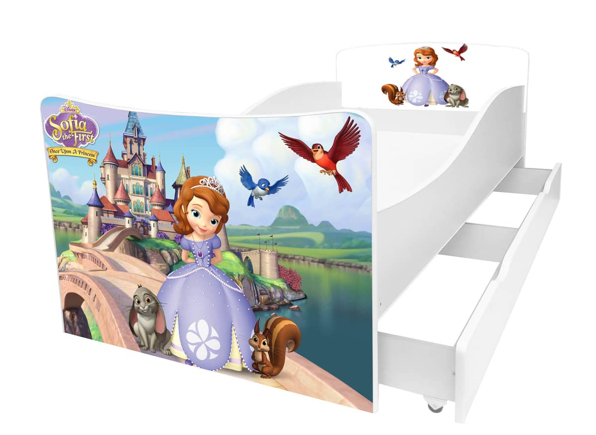 детская кровать принцесса софи