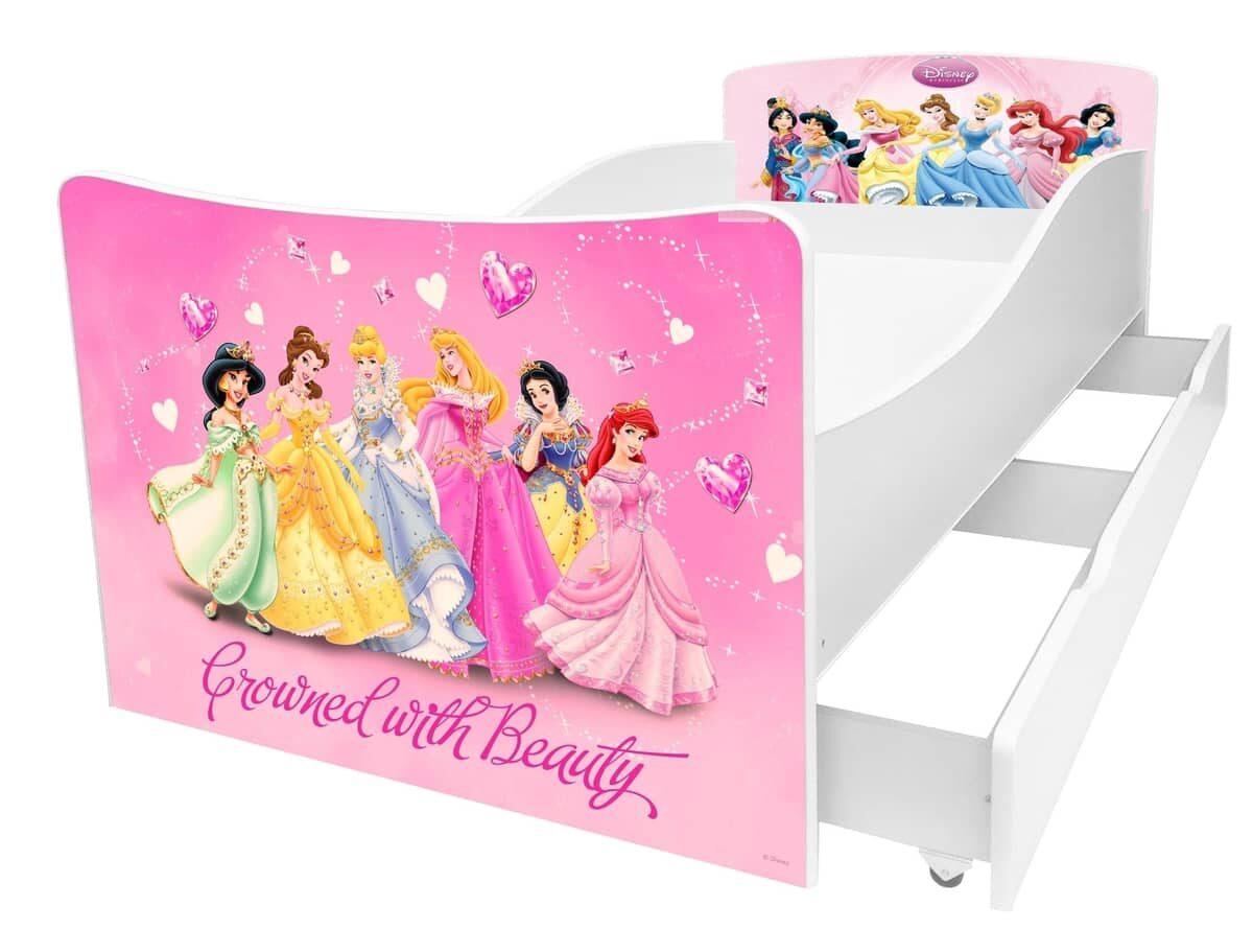 детская кровать киндер принцессы дисней