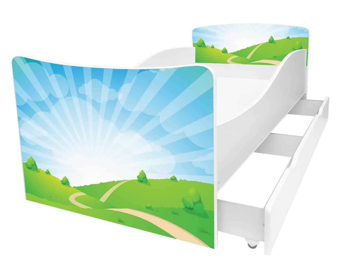 детская кровать природа киндер