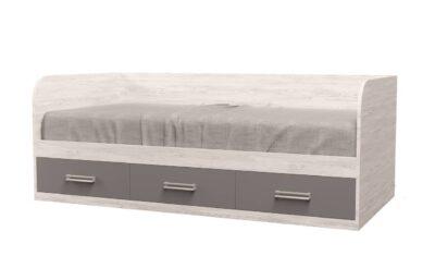 Кровать Аляска. 3 ящика