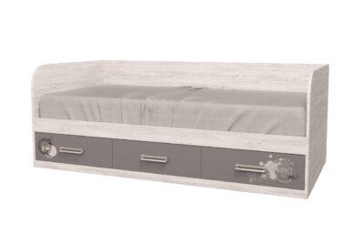 Кровать Аляска рисунок. 3 ящика