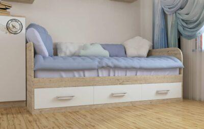 Кровать Шервуд. 3 ящика