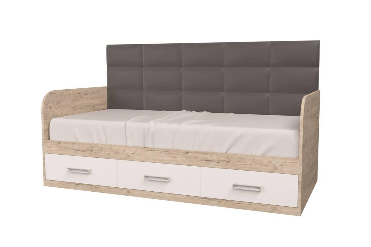 кровать для подростка шервуд белый