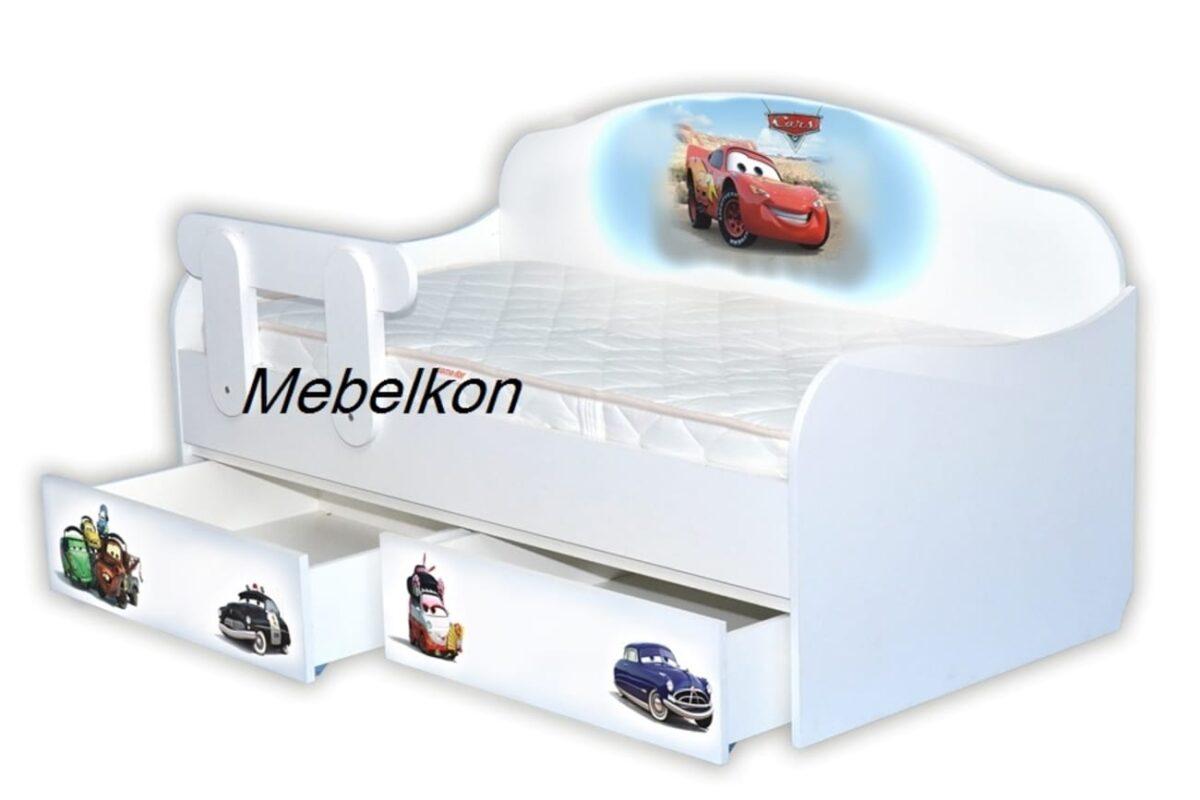 кровать с высокой спинкой молния маквин