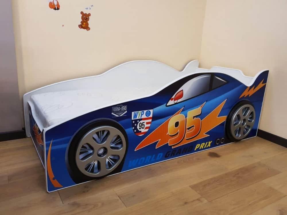 кровать машина эволюшн маквин молния