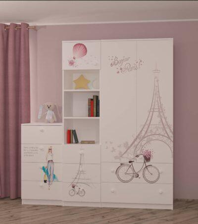Париж. Шкаф с ящиками