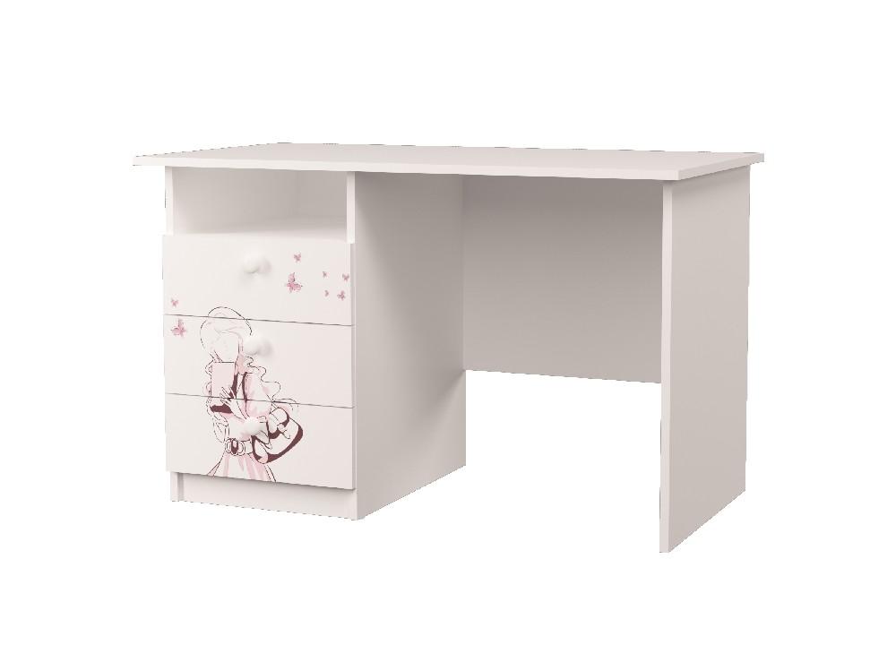 стол в детскую на 3 ящика париж