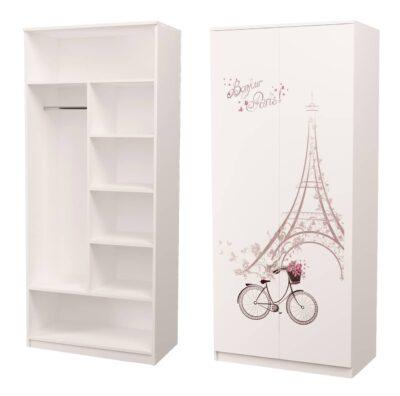 Париж. Шкаф комбинированнный