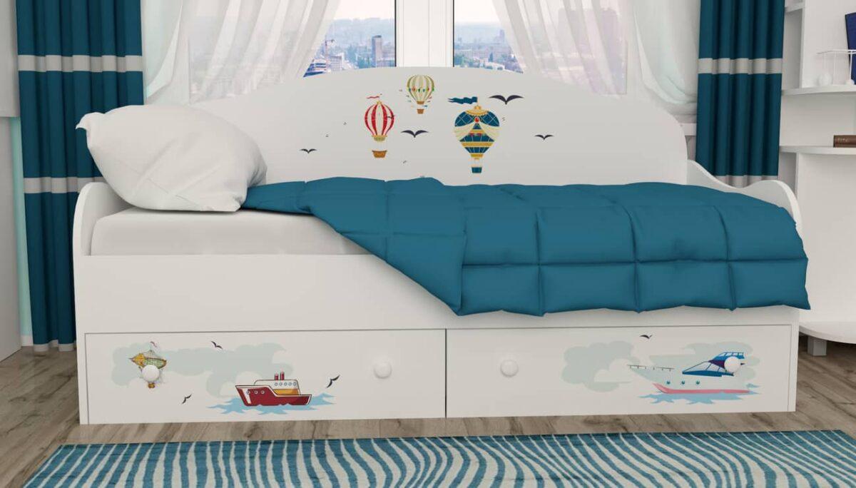 кровать детская в морском стиле