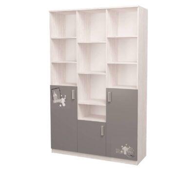 Тройной шкаф с рисунком