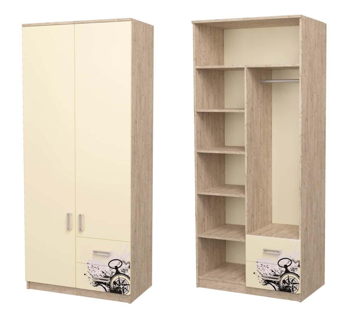 шкаф комбинированный шервуд рисунок