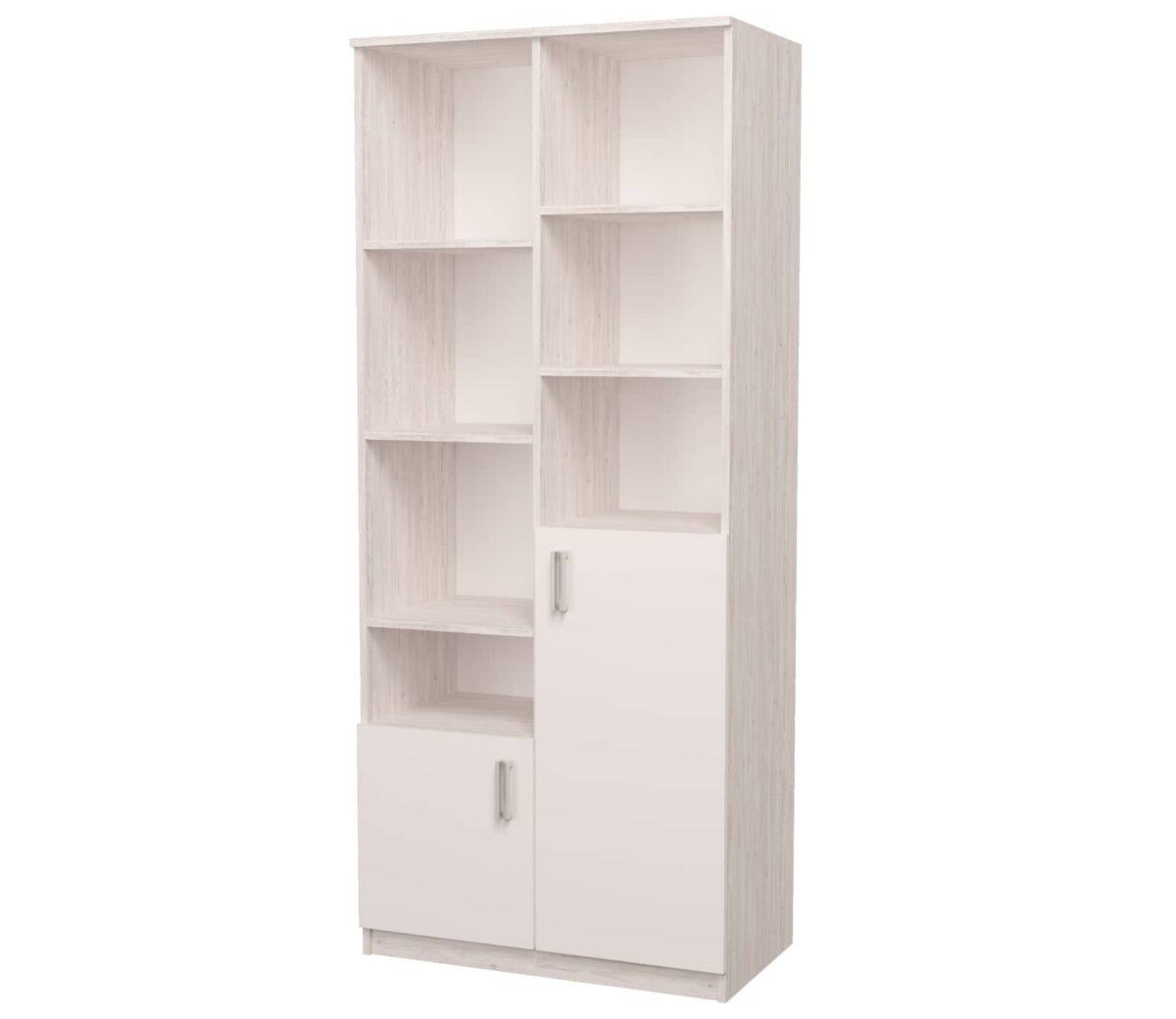шкаф с полками открытый