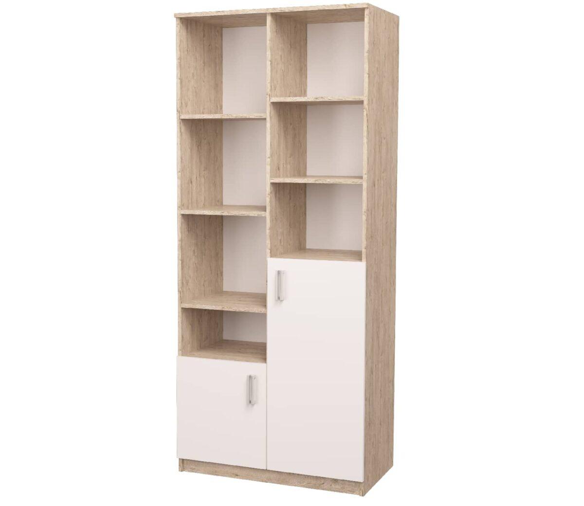 шкаф открытого типа белый