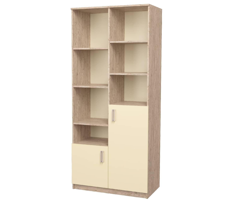 шкаф с полками ваниль шервуд
