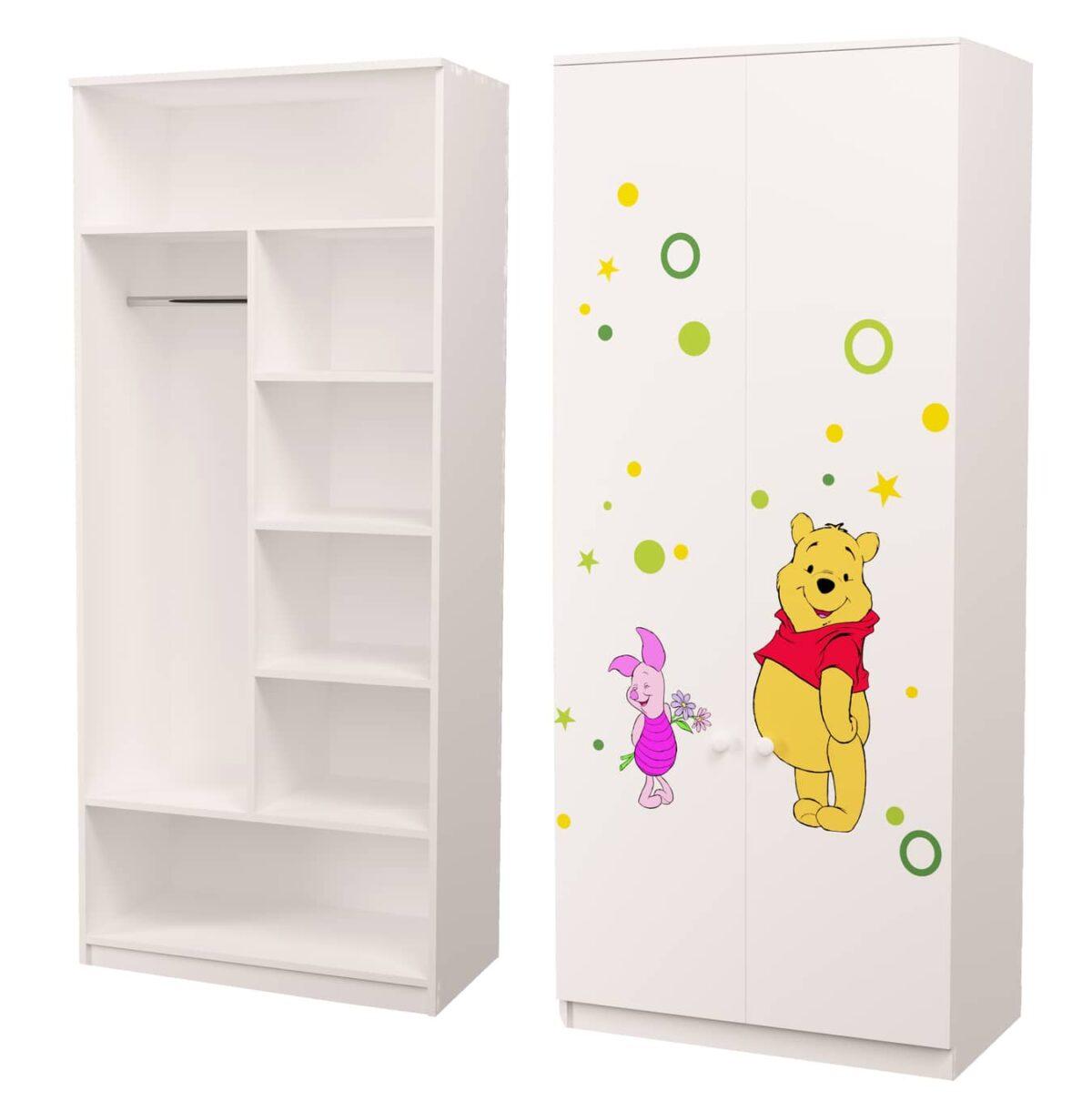 шкаф для одежды винни пух