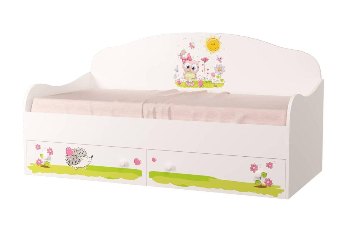 кровать диван совенок