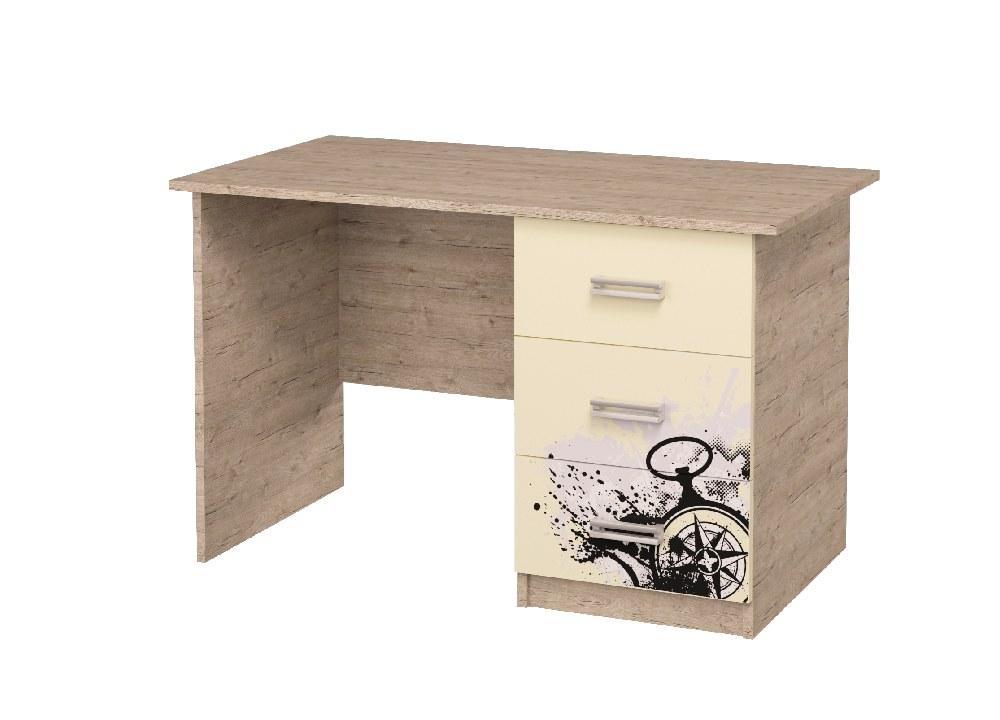 письменный стол с 3 ящиками шервуд ваниль
