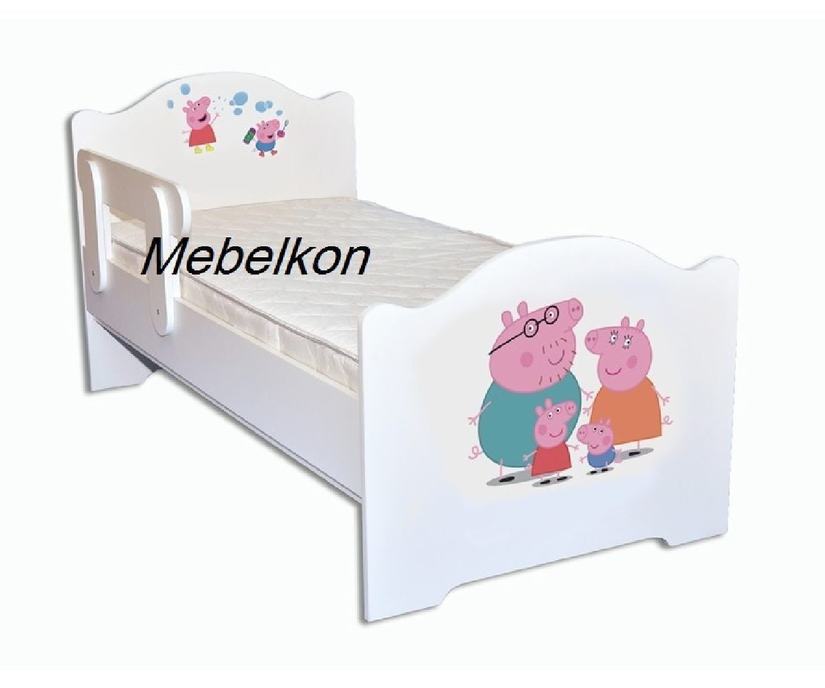 кровать свинка пеппа