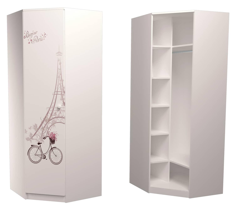 угловой шкаф в детскую париж