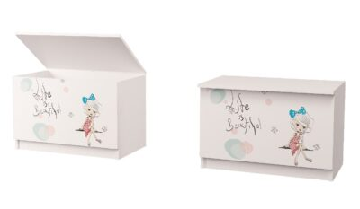 скринька для іграшок в дитячу дівчинка