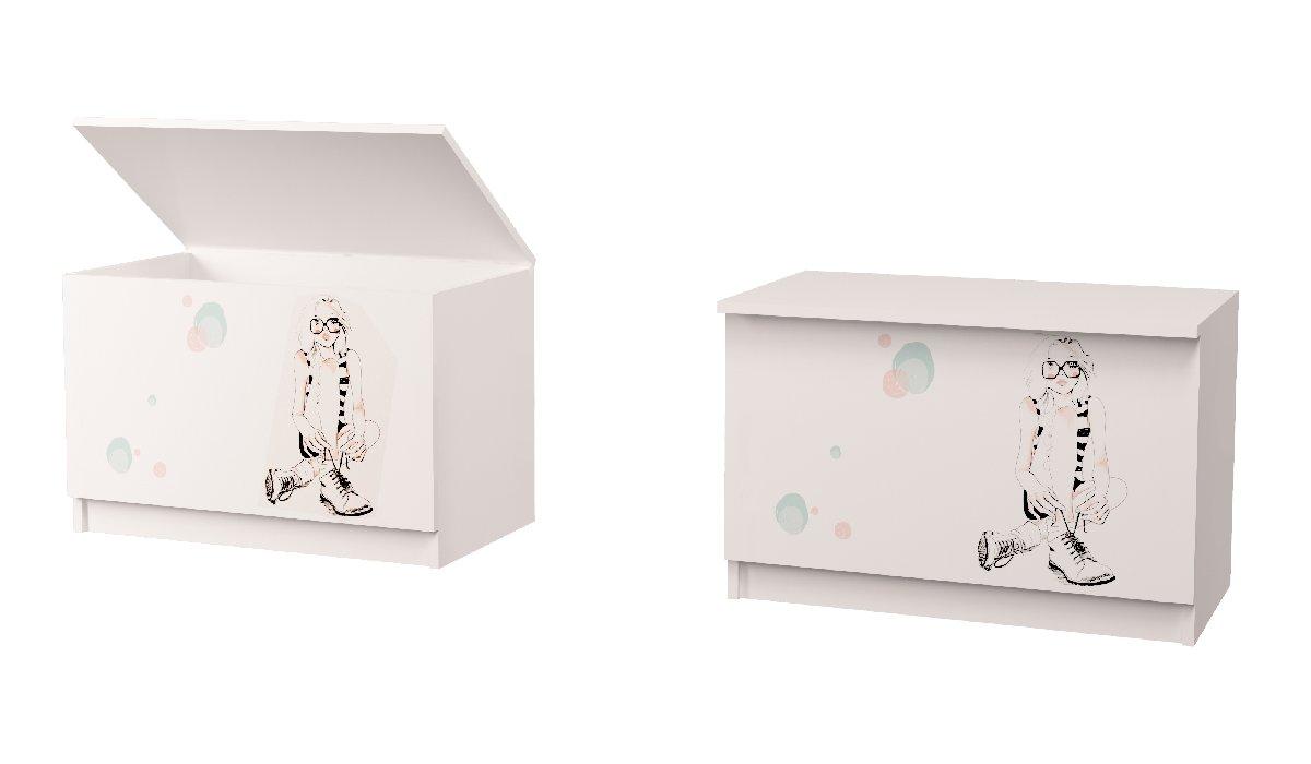 ящик для игрушек в детскую гламур