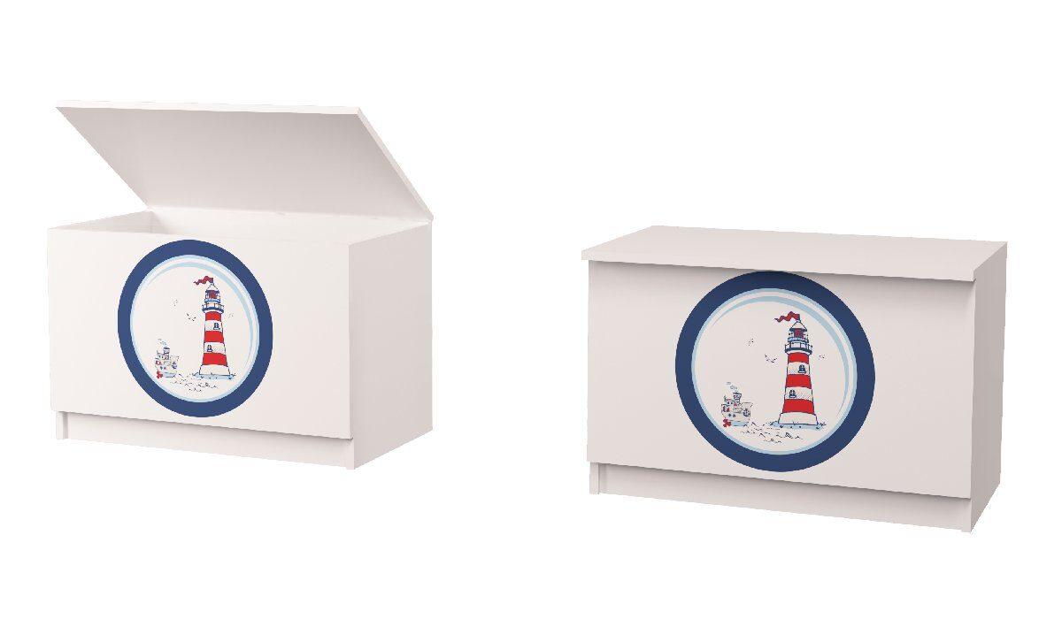 ящик для игрушек кораблик