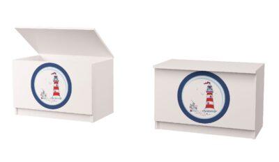 ящик для іграшок кораблик