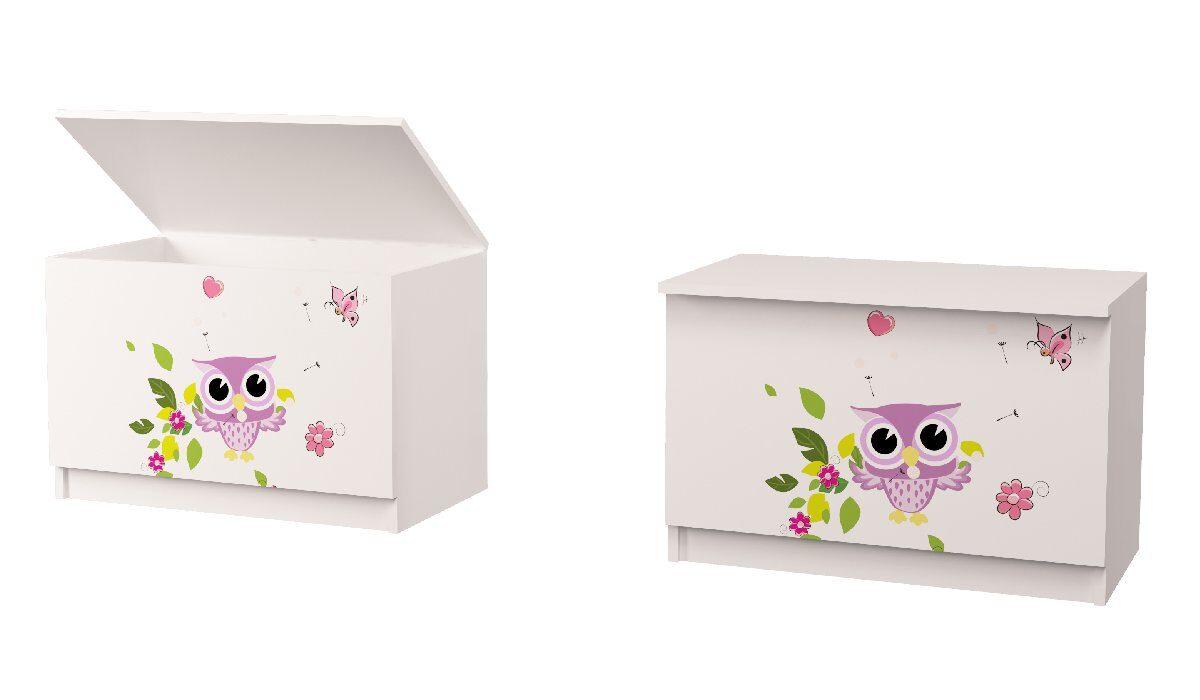 ящик для игрушек совушки