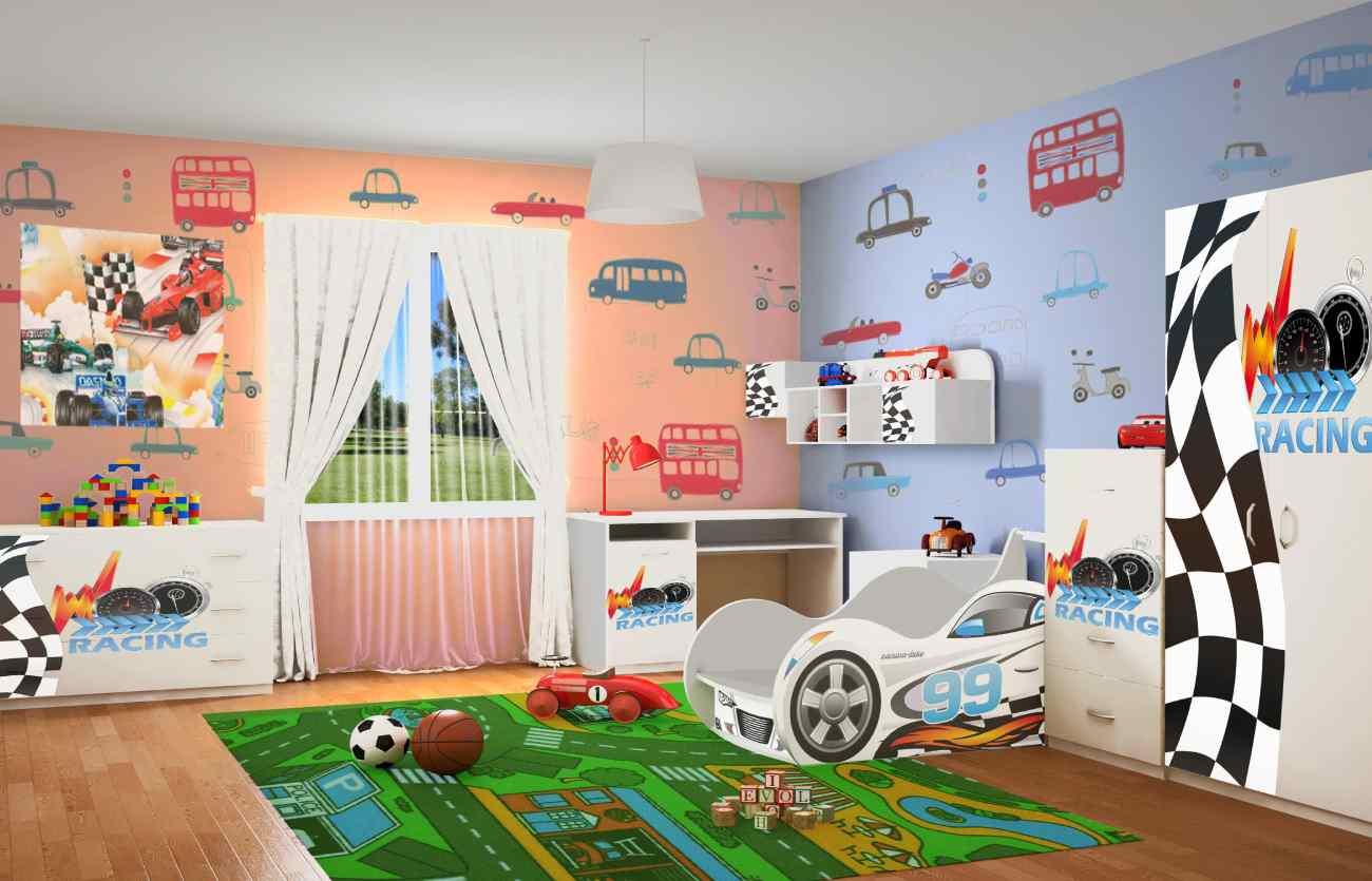Детская комната Рэйсинг форсаж