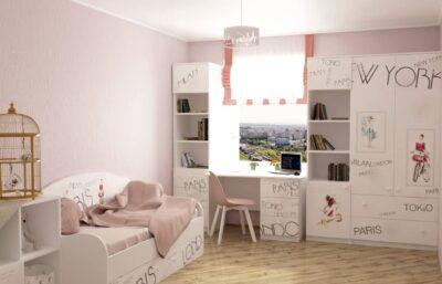дизайн детской комнаты вояж