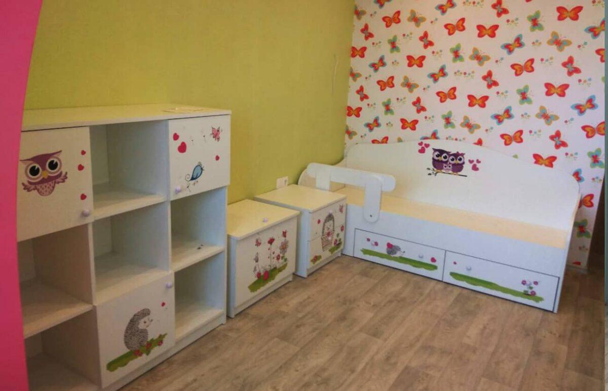 Фото детской комнаты совушки