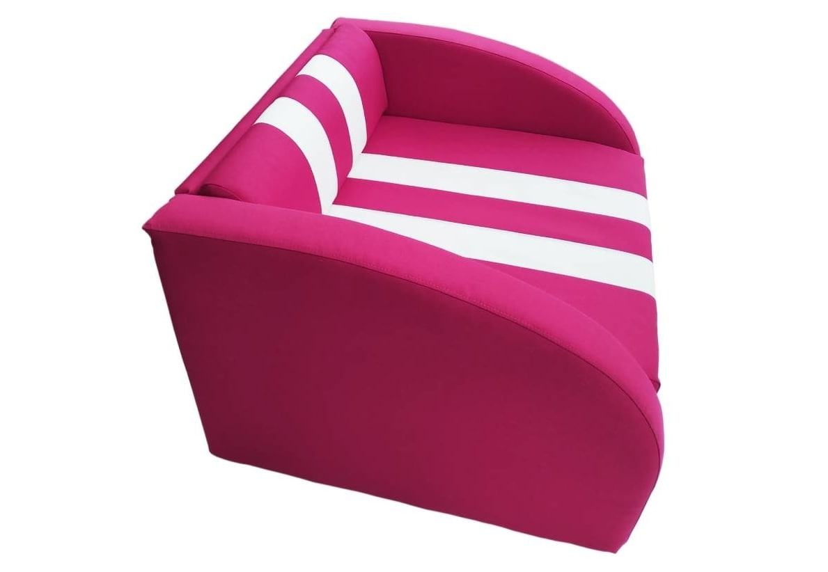 кресло кровать розовое