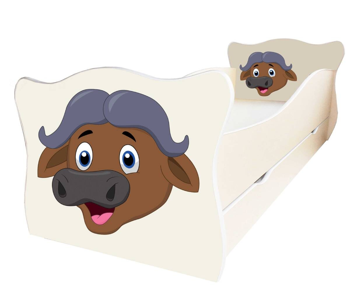 детская кровать с буйволом