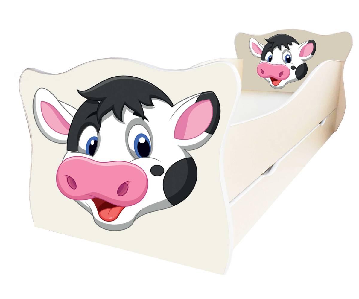 детская кровать с коровкой