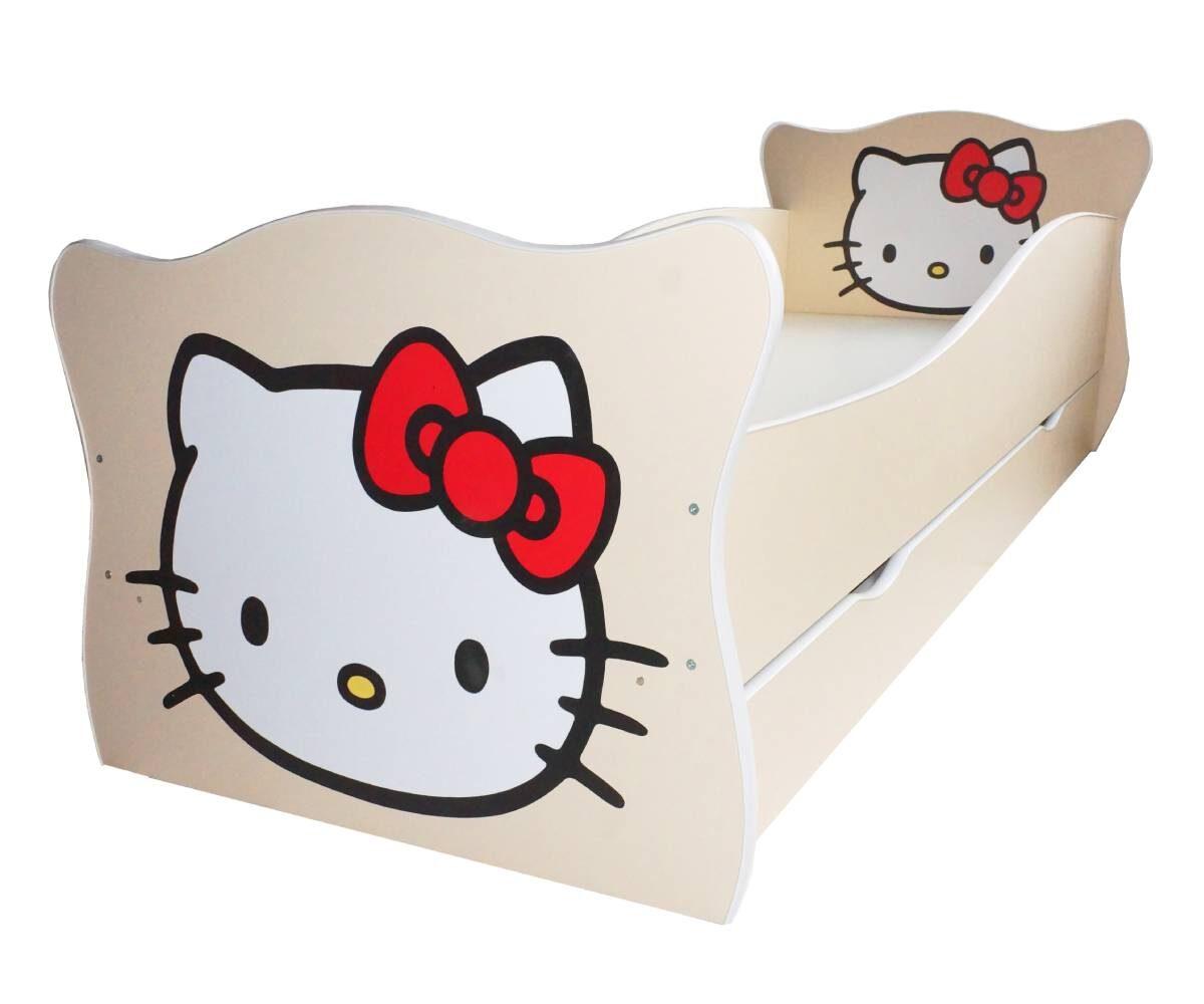 детская кровать с котиком